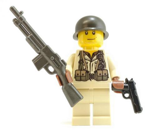 BrickArms WWII Bar Gunner Minifigure