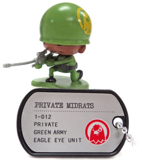 Awesome Little Green Men Private Midrats Common PVC Figure #1-012 [Eagle Eye Loose]