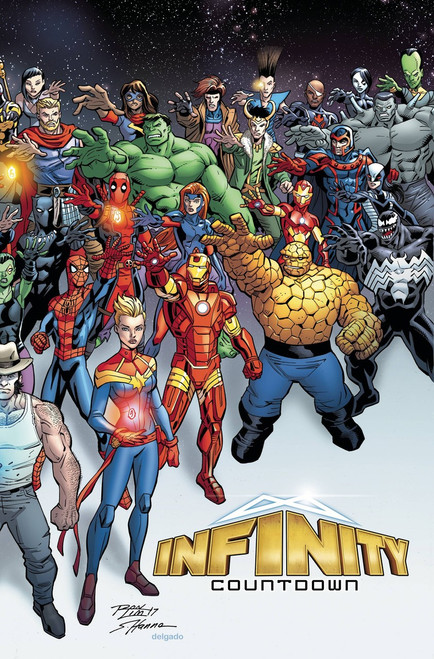 Marvel Comics Infinity Countdown #1 Comic Book [Lim Wraparound Variant]