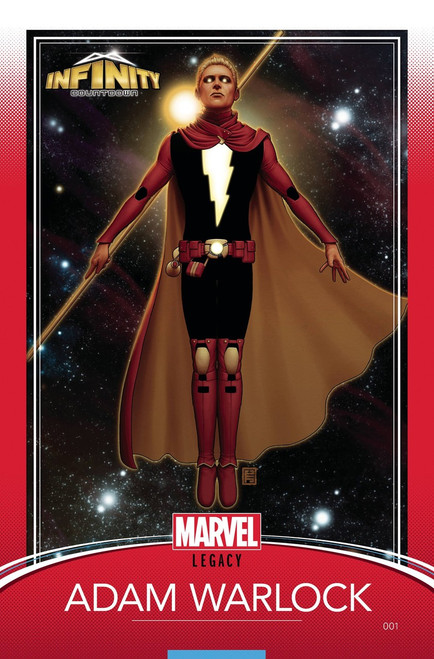 Marvel Comics Infinity Countdown #1 Comic Book [Christopher Trading Card Variant]