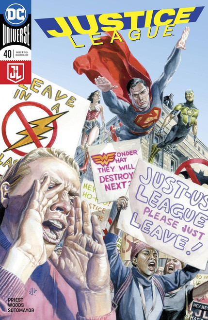 DC Justice League #40 Comic Book [Jones Variant Cover]