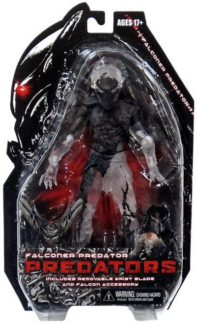 NECA Predators Series 7 Falconer Predator Action Figure [Camo Cloaked]