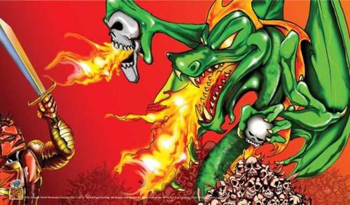 Card Supplies Dragon Skull Mountain Play Mat