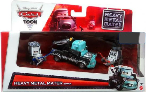 Disney / Pixar Cars Cars Toon Multi-Packs Heavy Metal Mater 3-Pack Exclusive Diecast Car Set