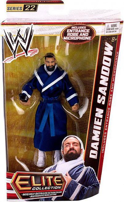 WWE Wrestling Elite Collection Series 22 Damien Sandow Action Figure [Entrance Robe & Microphone]