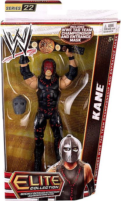 WWE Wrestling Elite Collection Series 22 Kane Action Figure [Tag Team Championship Belt & Entrance Mask]
