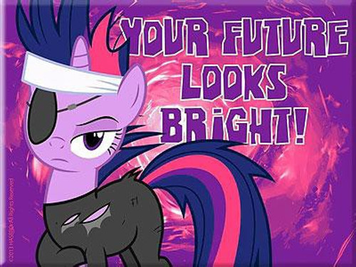 My Little Pony Twilight Sparkle Magnet [Your Future Looks Bright]