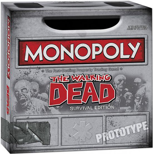 Comic The Walking Dead Monopoly Board Game [Survival Edition]