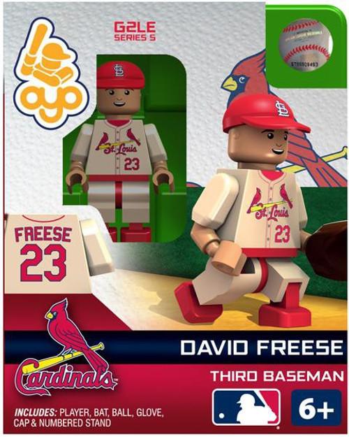 St. Louis Cardinals MLB Generation 2 Series 5 David Freese Minifigure