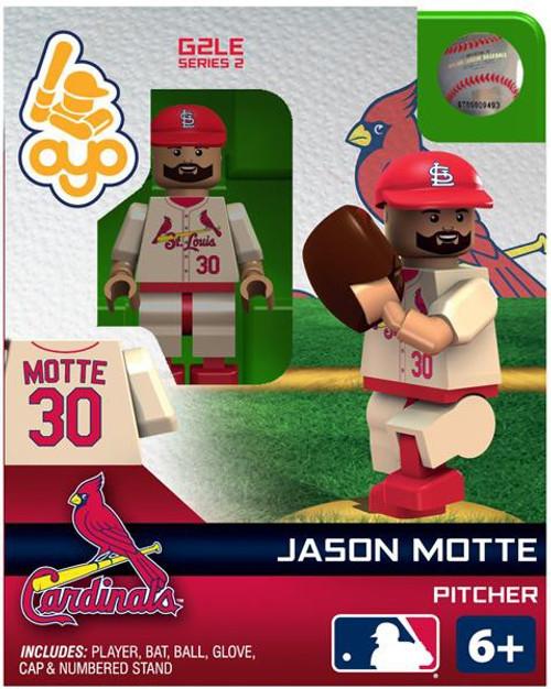 St. Louis Cardinals MLB Generation 2 Series 2 Jason Motte Minifigure