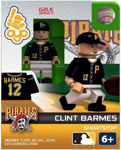 Pittsburgh Pirates MLB Generation 2 Series 2 Clint Barmes Minifigure