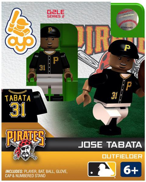Pittsburgh Pirates MLB Generation 2 Series 2 Jose Tabata Minifigure