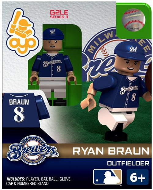 Milwaukee Brewers MLB Generation 2 Series 3 Ryan Braun Minifigure