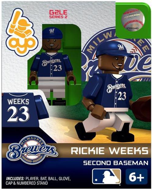 Milwaukee Brewers MLB Generation 2 Series 2 Rickie Weeks Minifigure