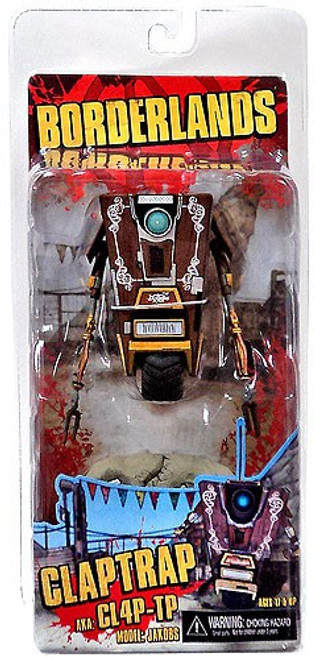 NECA Borderlands Claptrap Action Figure [Jakobs]