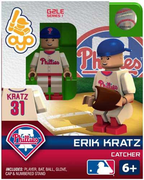 Philadelphia Phillies MLB Generation 2 Series 1 Erik Kratz Minifigure