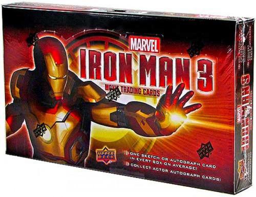 Iron Man 3 Movie Trading Card Box [24 Packs]