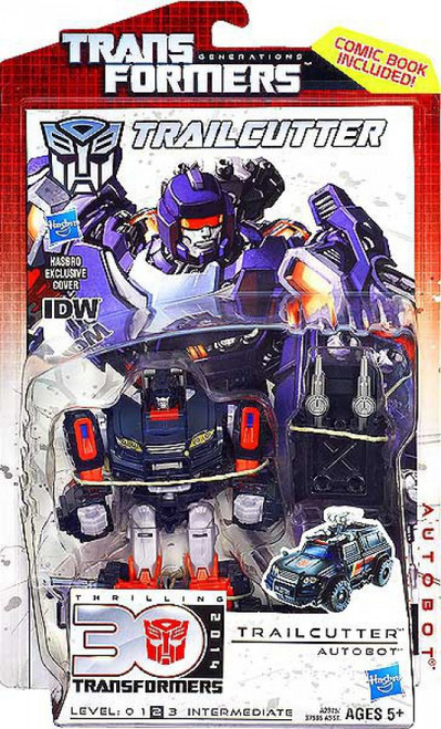Transformers Generations 30th Anniversary Deluxe IDW Trailcutter Deluxe Action Figure