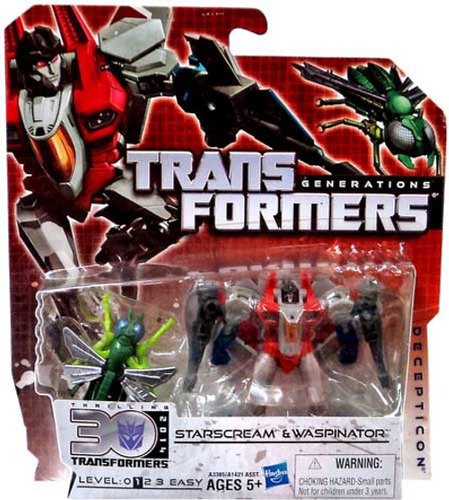 Transformers Generations 30th Anniversary Legends Starscream & Waspinator Legend Action Figure 2-Pack