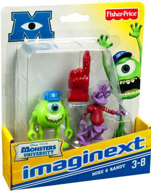 Fisher Price Disney / Pixar Imaginext Monsters University Mike & Randy 3-Inch Mini Figures