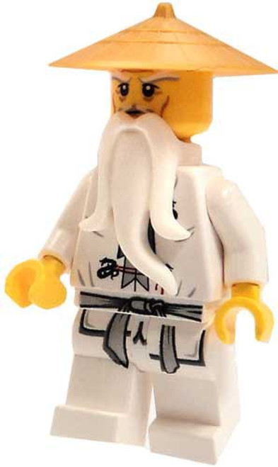 LEGO Ninjago Sensei Wu Minifigure [White Robes & Gold Hat Loose]