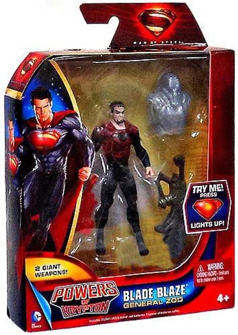 Superman Man of Steel Powers of Krypton General Zod Exclusive Action Figure [Blade Blaze]