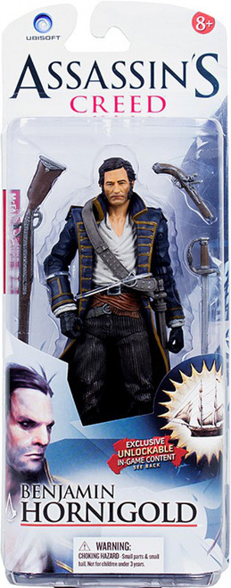McFarlane Toys Assassin's Creed IV Black Flag Benjamin Hornigold Action Figure