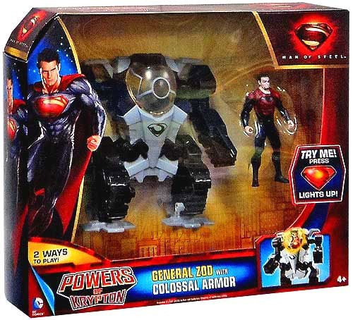 Superman Man of Steel Powers of Krypton General Zod Exclusive Action Figure [Colossal Armor]