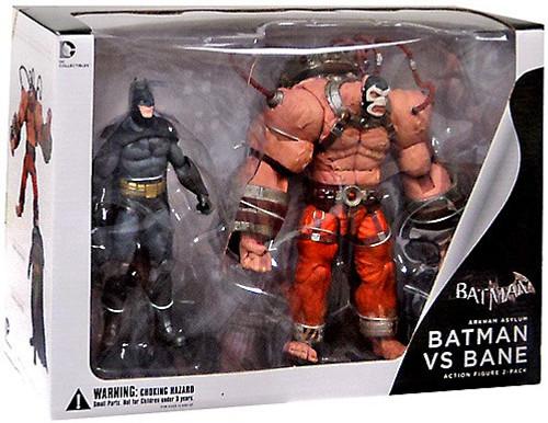 Arkham Asylum Batman Vs. Bane Action Figure 2-Pack