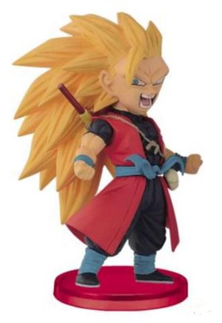 Super Dragon Ball Heroes WCF Figure Collection Vol.2 Super Sayian 3 Goku 2.75-Inch Collectible PVC Figure [Xenoverse]