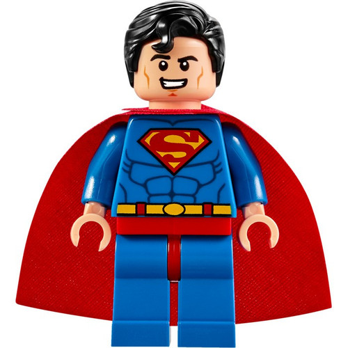 LEGO DC Superman Minifigure #10724 [Ver. 4 Loose]