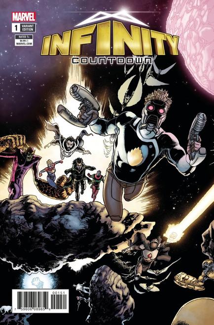 Marvel Comics Infinity Countdown #1 Comic Book [Kuder Connecting Variant]