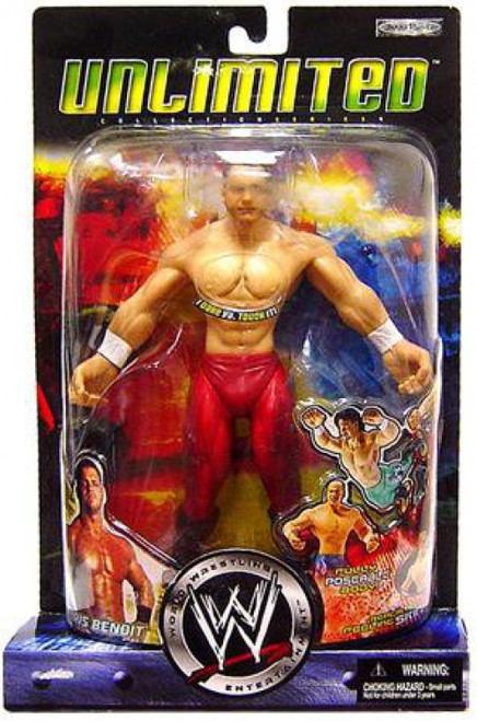 WWE Wrestling Unlimited Collection Chris Benoit Action Figure