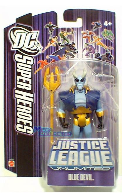 DC Justice League Unlimited Super Heroes Blue Devil Action Figure