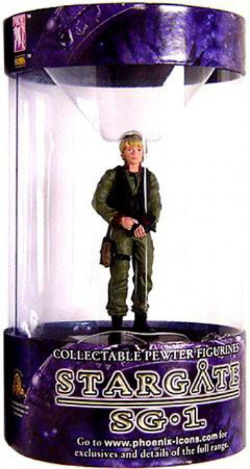 "Stargate SG-1 Series 1 Samantha ""Sam"" Carter Pewter Figure"