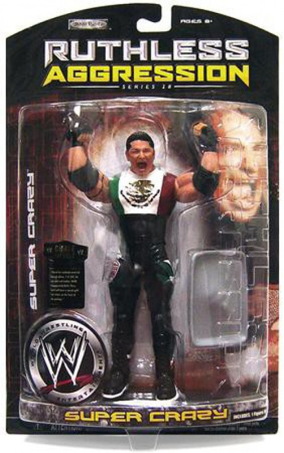 WWE Wrestling Ruthless Aggression Series 28 Super Crazy Action Figure