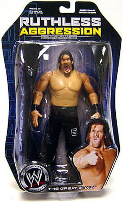 WWE Wrestling Ruthless Aggression Best of 2007 Series 1 The Great Khali Action Figure