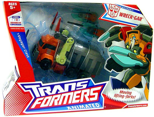 Transformers Animated Voyager Wreck-Gar Voyager Action Figure