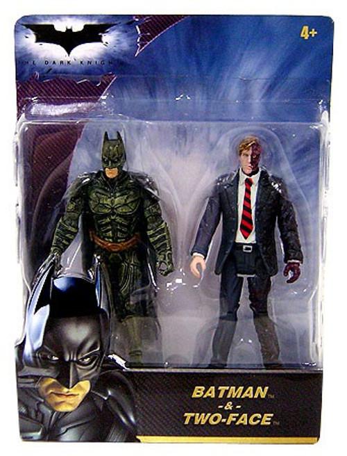 The Dark Knight Batman & Two-Face Mini Figure 2-Pack