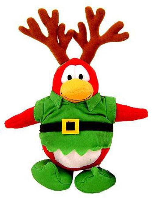 Club Penguin Elf Reindeer 6.5-Inch Plush Figure [Version 1]