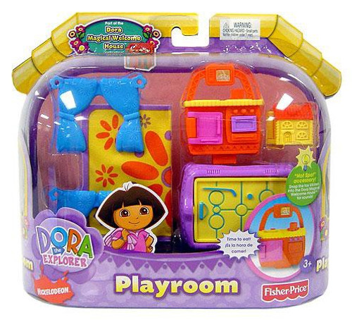 Fisher Price Dora the Explorer Magical Welcome House Playroom Furniture Set