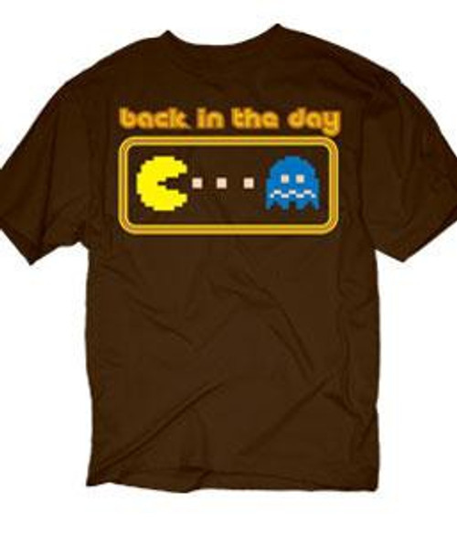Pac Man Back In The Day T-Shirt [Adult Small]