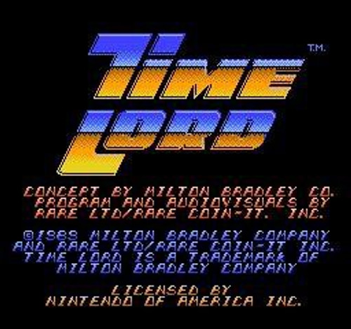 Nintendo NES Time Lord Video Game Cartridge [Played Condition]