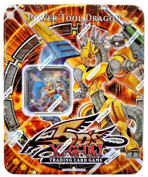 YuGiOh YuGiOh 5D's 2009 Power Tool Dragon Tin Set
