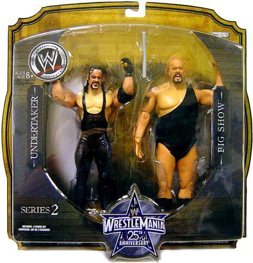 WWE Wrestling WrestleMania 25 Series 2 Big Show & Undertaker Action Figure 2-Pack