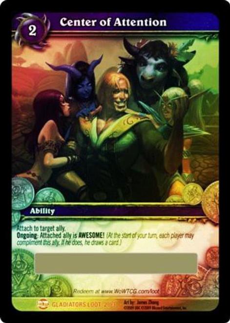 World of Warcraft Trading Card Game Blood of Gladiators Legendary Loot Epic Purple Shirt #2