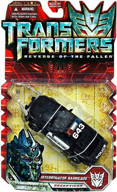 Transformers Revenge of the Fallen Interrogator Barricade Deluxe Action Figure