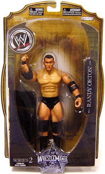 WWE Wrestling WrestleMania 25 Series 2 Randy Orton Action Figure