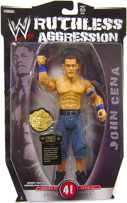 WWE Wrestling Ruthless Aggression Series 41 John Cena Action Figure