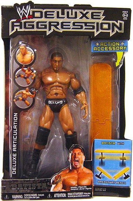 WWE Wrestling Deluxe Aggression Series 22 Batista Action Figure